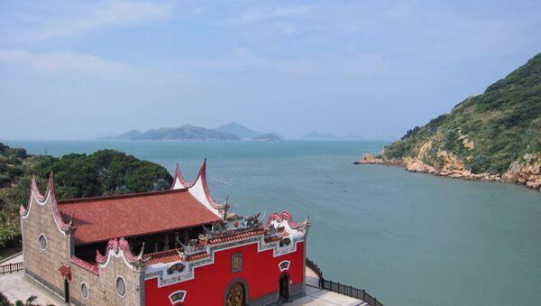 Nioufongjing Wulinggong Temple Place: Nangan, Matsu Islands, Taiwan Strait - Sputnik International