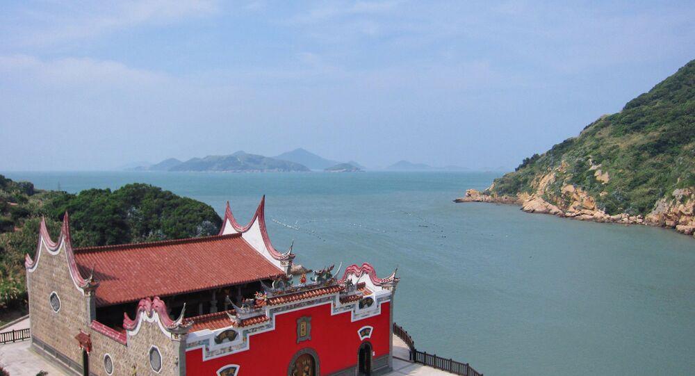 Nioufongjing Wulinggong Temple Place: Nangan, Matsu Islands, Taiwan Strait