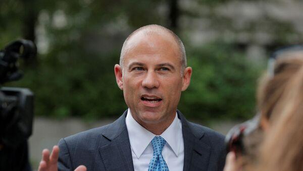 Attorney Michael Avenatti exits the United States Courthouse in the Manhattan borough of New York - Sputnik International