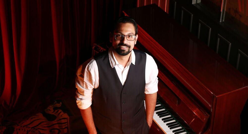 Arjun Sagar Gupta,accomplished pianist and founder ofThe Piano Man Jazz Club in India.