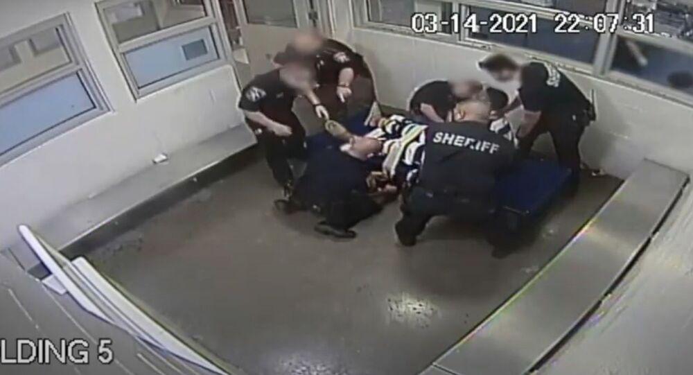 Marvin Scott III jail surveillance video