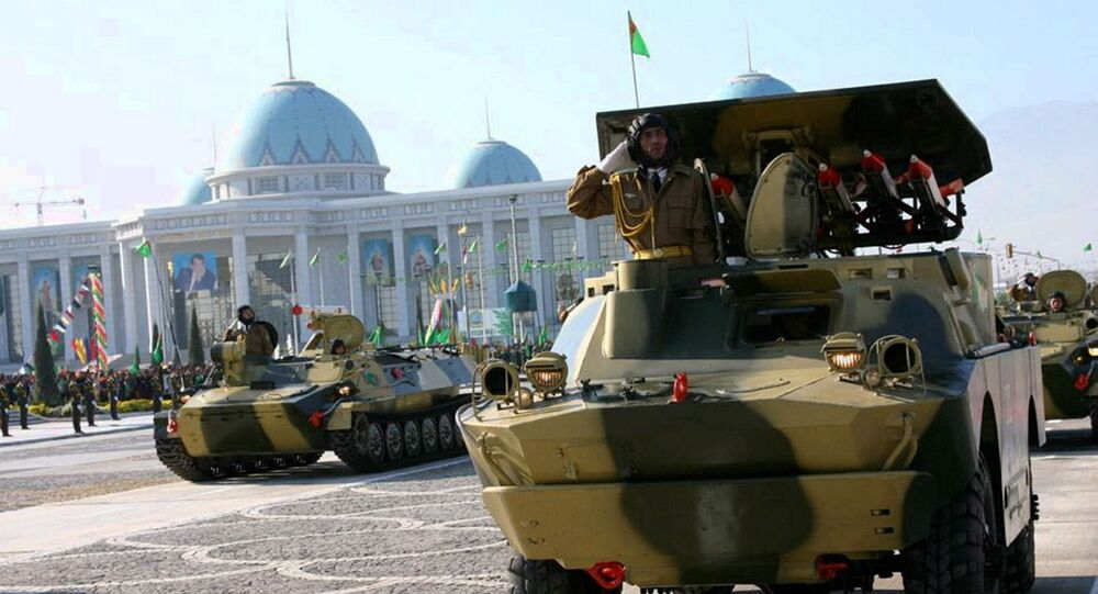 Independence Day Parade in Turkmenistan, file photo.