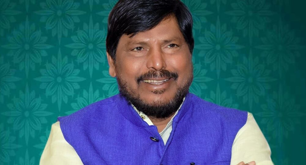 Shri Ramdas Athawale, Minister of State for Social Justice and Empowerment, Federal Government of India