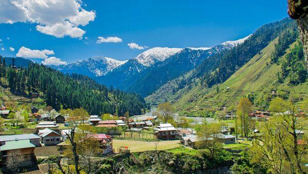 View From Sharda Fort, Azad Kashmir, Pakistan. - Sputnik International