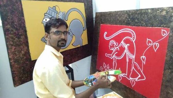 Assam artist. - Sputnik International