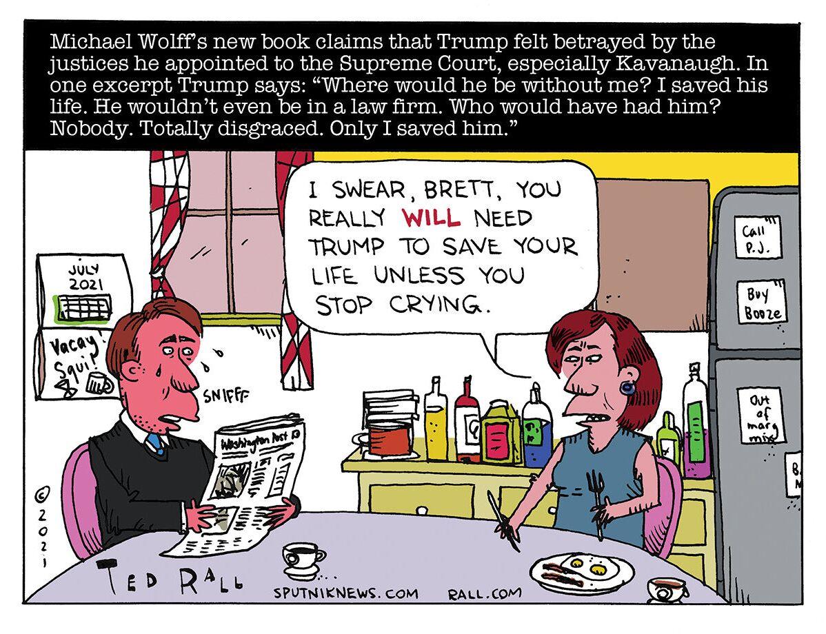 Lifesaver Trump