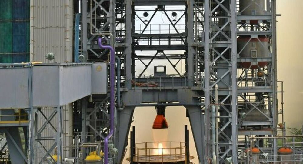 ISRO successfully conducted the hot test of the liquid propellant Vikas Engine for the core L110 liquid stage of the human-rated GSLV MkIII vehicle, as part of engine qualification requirements for the Gaganyaan programme