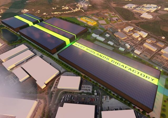 The proposed gigafactory in Coventry, England