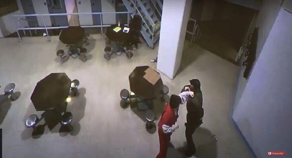 Nikolas Cruz - School Shooter: RAW VIDEO of Attack on Jail Guard