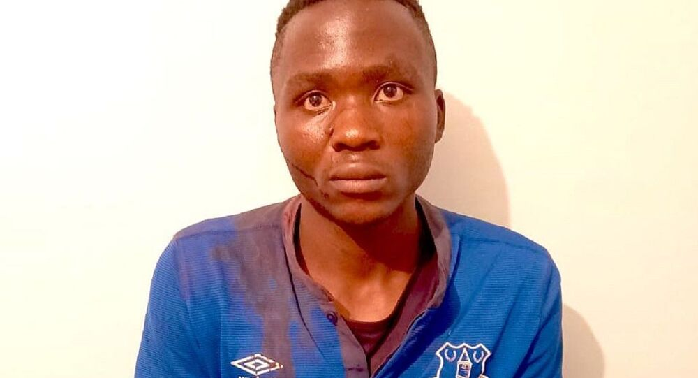 Masten Milimo Wanjala, the bloodthirsty vampire arrested earlier today is responsible for at least ten cold-blooded murders of innocent children, as our detectives have finally established. Wanjala single handedly