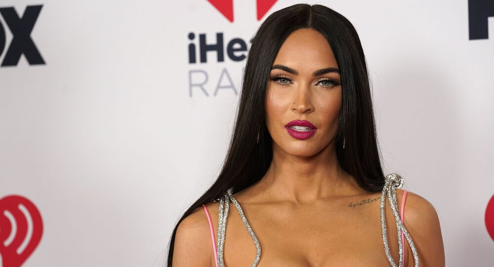 Megan Fox attends the iHeartRadio Music Awards at the Dolby Theatre on Thursday, May 27, 2021, in Los Angeles