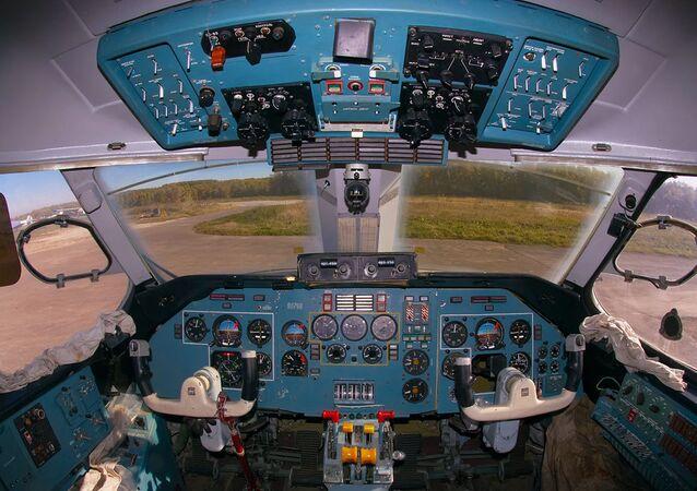An-28. Cockpit
