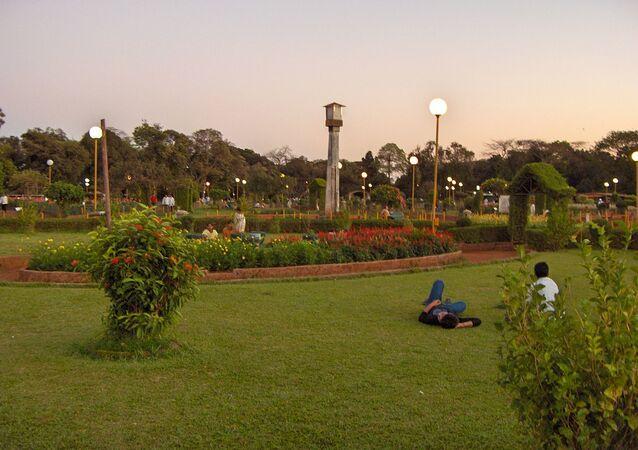 Hanging Gardens in Mumbai