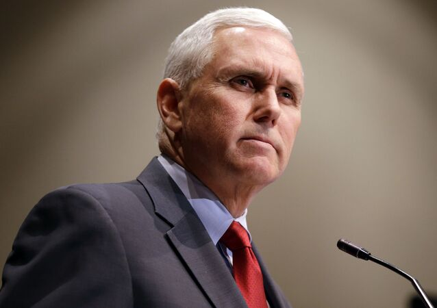 Indiana Gov. Mike Pence announces that the Centers for Medicaid and Medicare Services had approved the state's waiver request for the plan his administration calls HIP 2.0 during a speech in Indianapolis, 27 January 2015