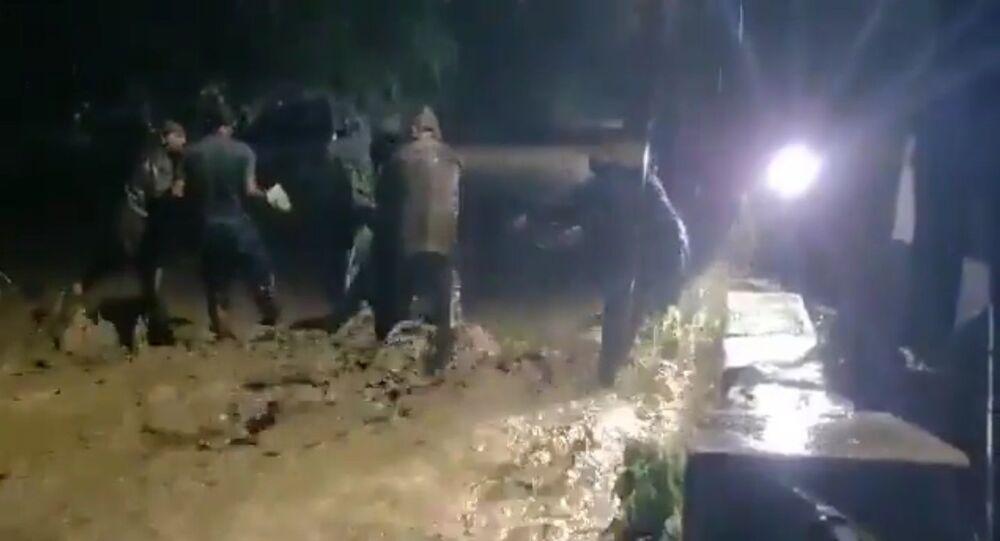 Cloudburst in Mando village of Uttarakhand's Uttarkashi district claimed 3 lives