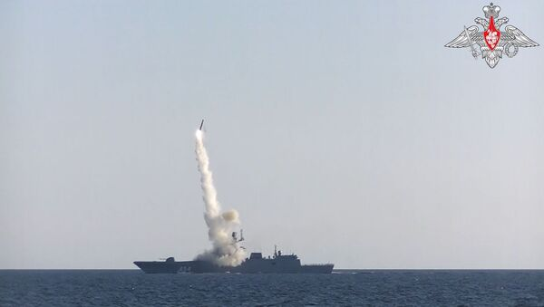 Фрегат Адмирал Горшков успешно произвёл выстрел гиперзвуковой ракетой Циркон - Sputnik International