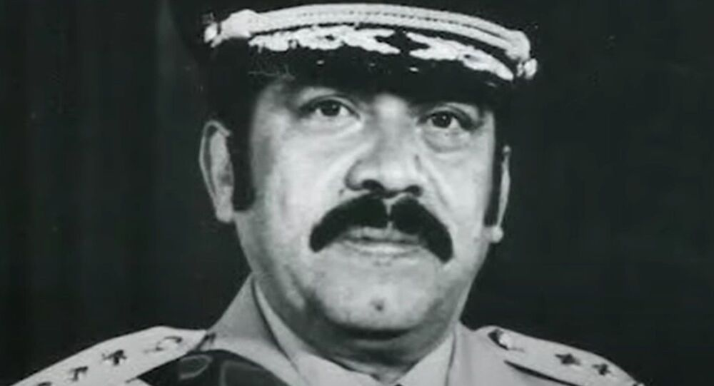 Former Salvadoran President Arturo Armando Molina presided over El Salvador between 1972 and 1977. His government marked a turbulent period for the Central American nation as El Salvador underwent increasing control by the Salvadoran military.