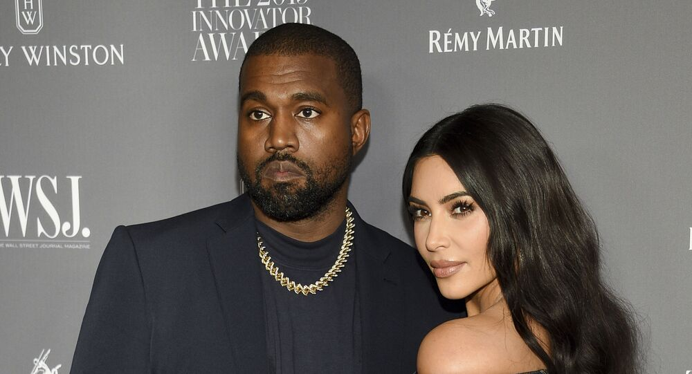Kanye West, left, and Kim Kardashian attend the WSJ. Magazine Innovator Awards on Nov. 6, 2019, in New York. Kim Kardashian West filed for divorce Friday, Feb. 19, 2021, from Kanye West after 6 1/2 years of marriage.