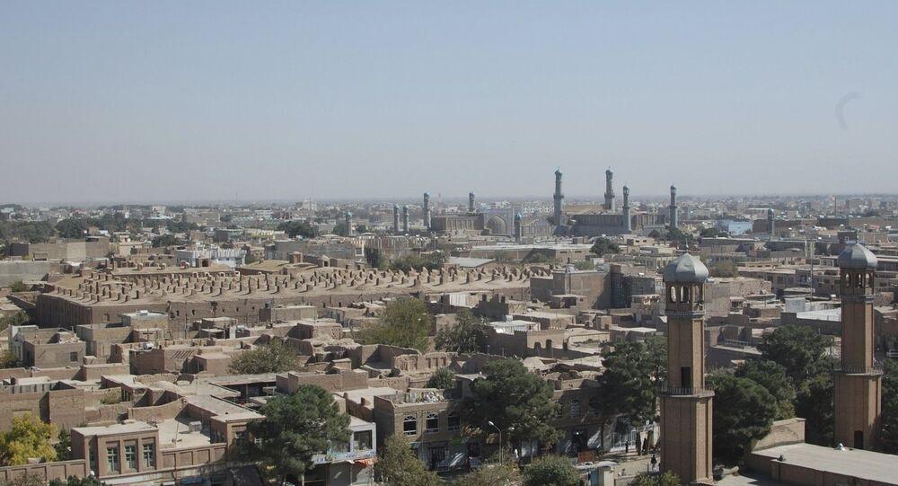 Skyline, Herat, Afghanistan