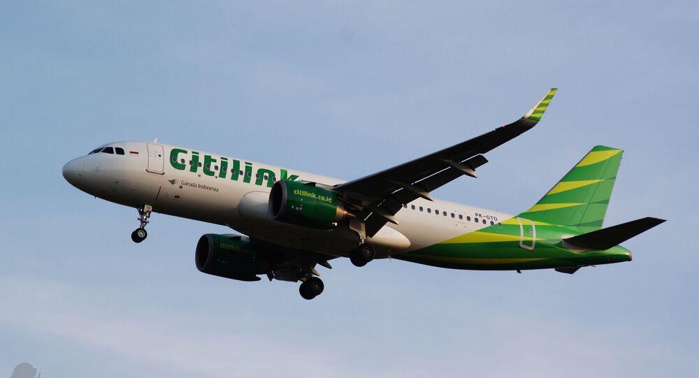 Citilink Indonesia Airbus A320-251N; Near CGK 2018