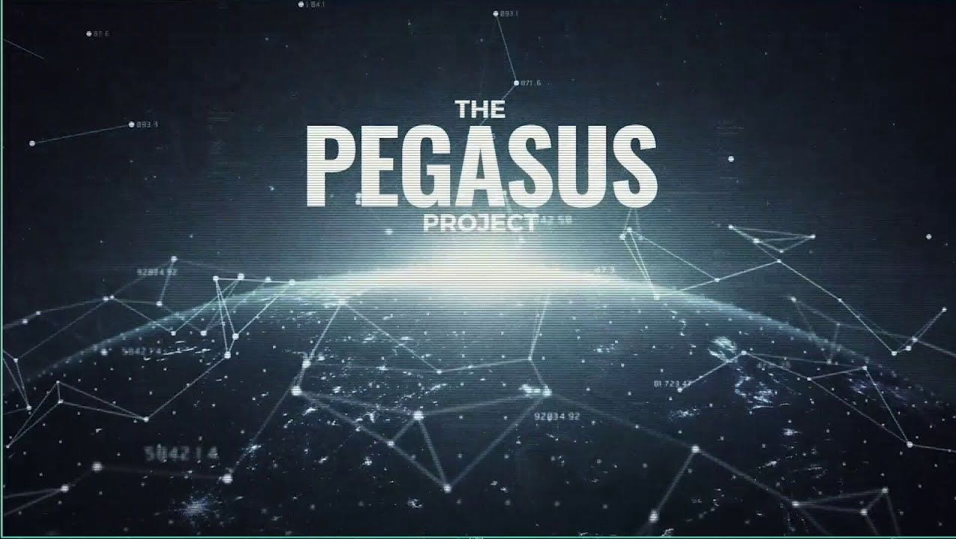 The Pegasus Project - Sputnik International, 1920, 25.07.2021