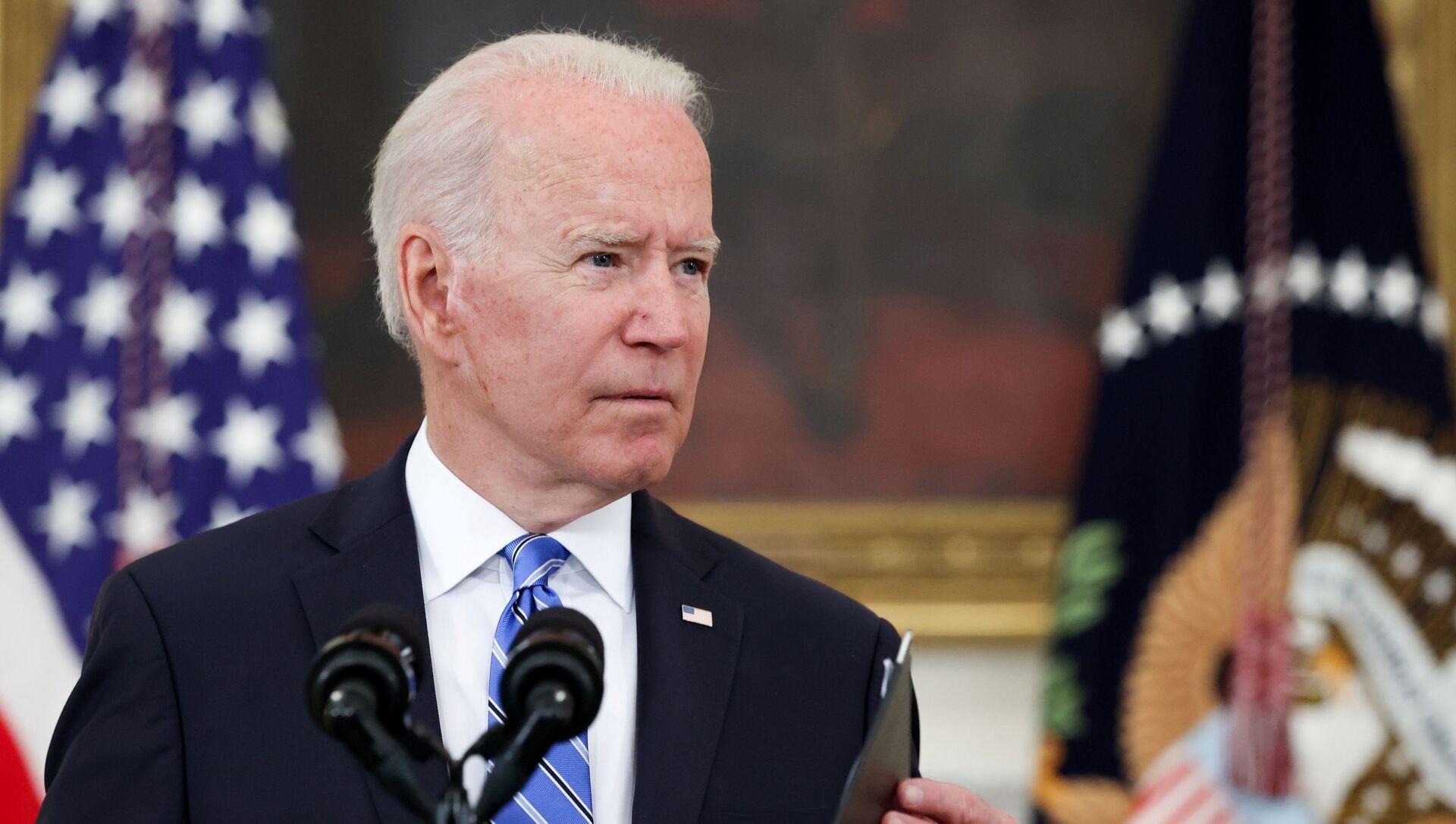 U.S. President Joe Biden delivers remarks on the economy at the White House in Washington, U.S. July 19, 2021.  - Sputnik International, 1920, 25.07.2021
