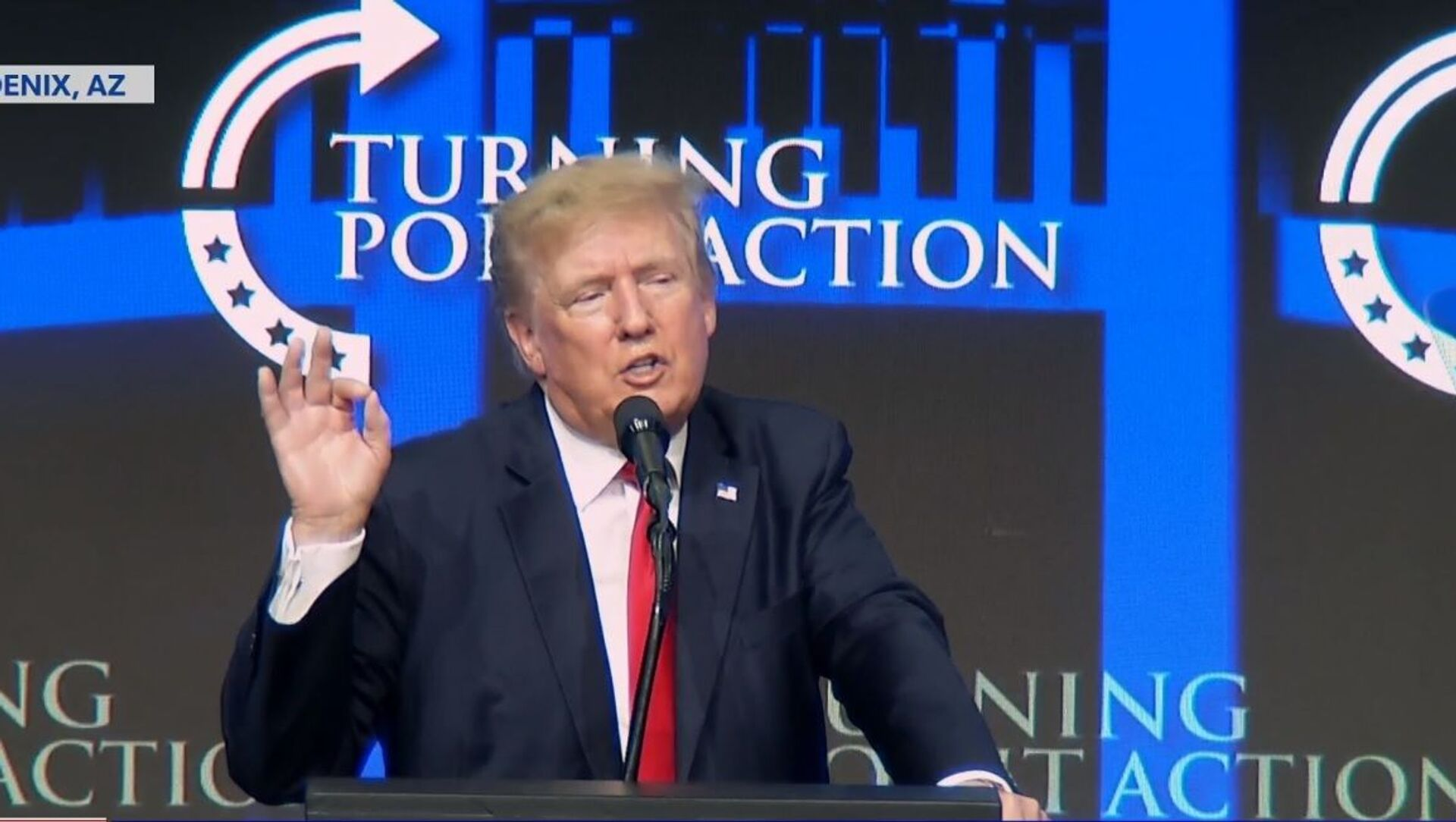 Trump speaking at  the Turning Point USA Student Action Summit in Phoenix, Arizona on July 24, 2021 - Sputnik International, 1920, 25.07.2021