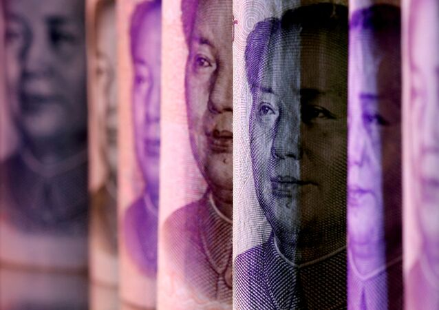 Chinese Yuan banknotes are seen in this illustration taken February 10, 2020.