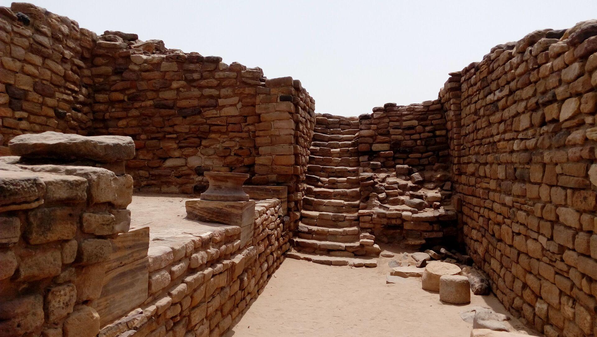 East Gate of Dholavira, Indus Valley Civilization site in Gujarat, India - Sputnik International, 1920, 27.07.2021