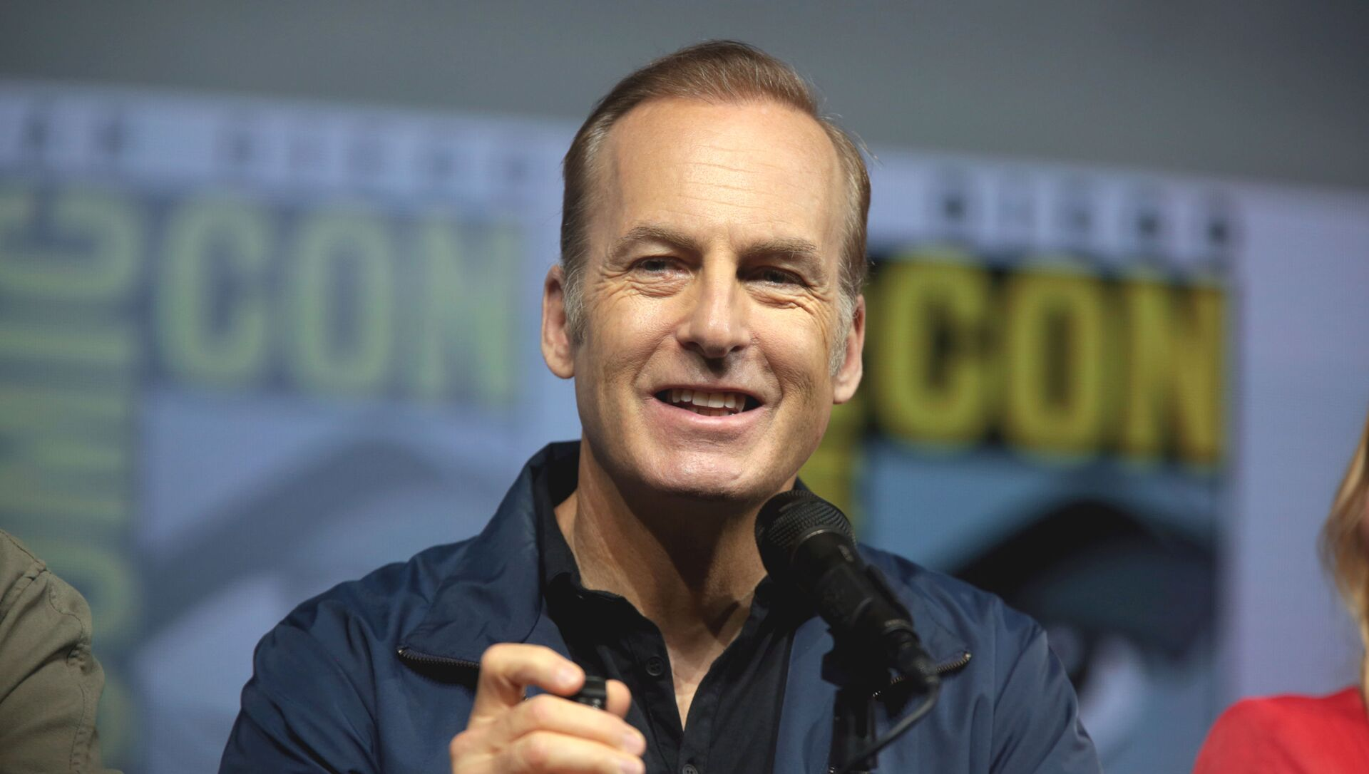 Bob Odenkirk speaking at the 2018 San Diego Comic Con International, for Better Call Saul, at the San Diego Convention Center in San Diego, California. - Sputnik International, 1920, 28.07.2021