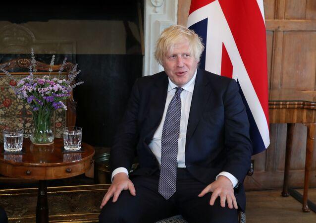 Britain's Prime Minister Boris Johnson. File photo