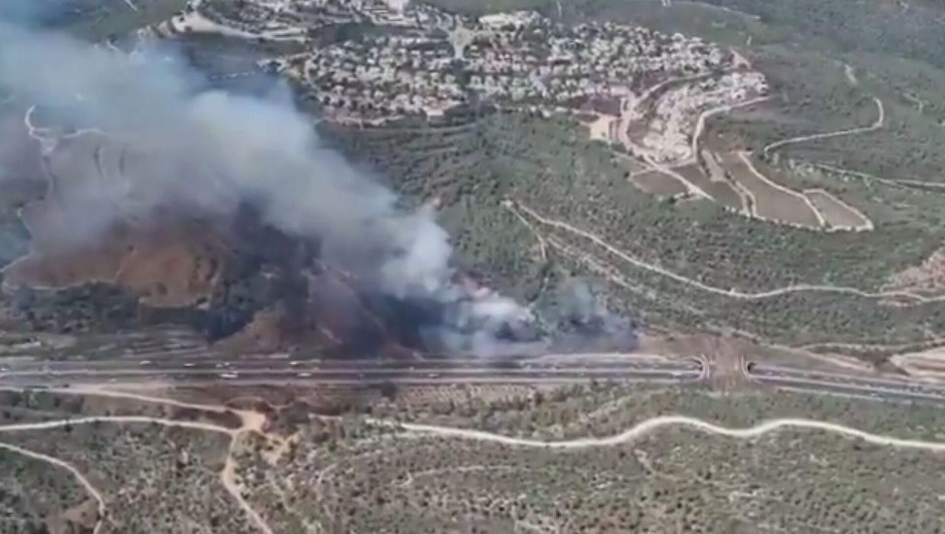 Wildfires near Jerusalem - Sputnik International, 1920, 03.08.2021