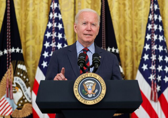 U.S. President Joe Biden delivers remarks at the White House in Washington, U.S. August 3, 2021.