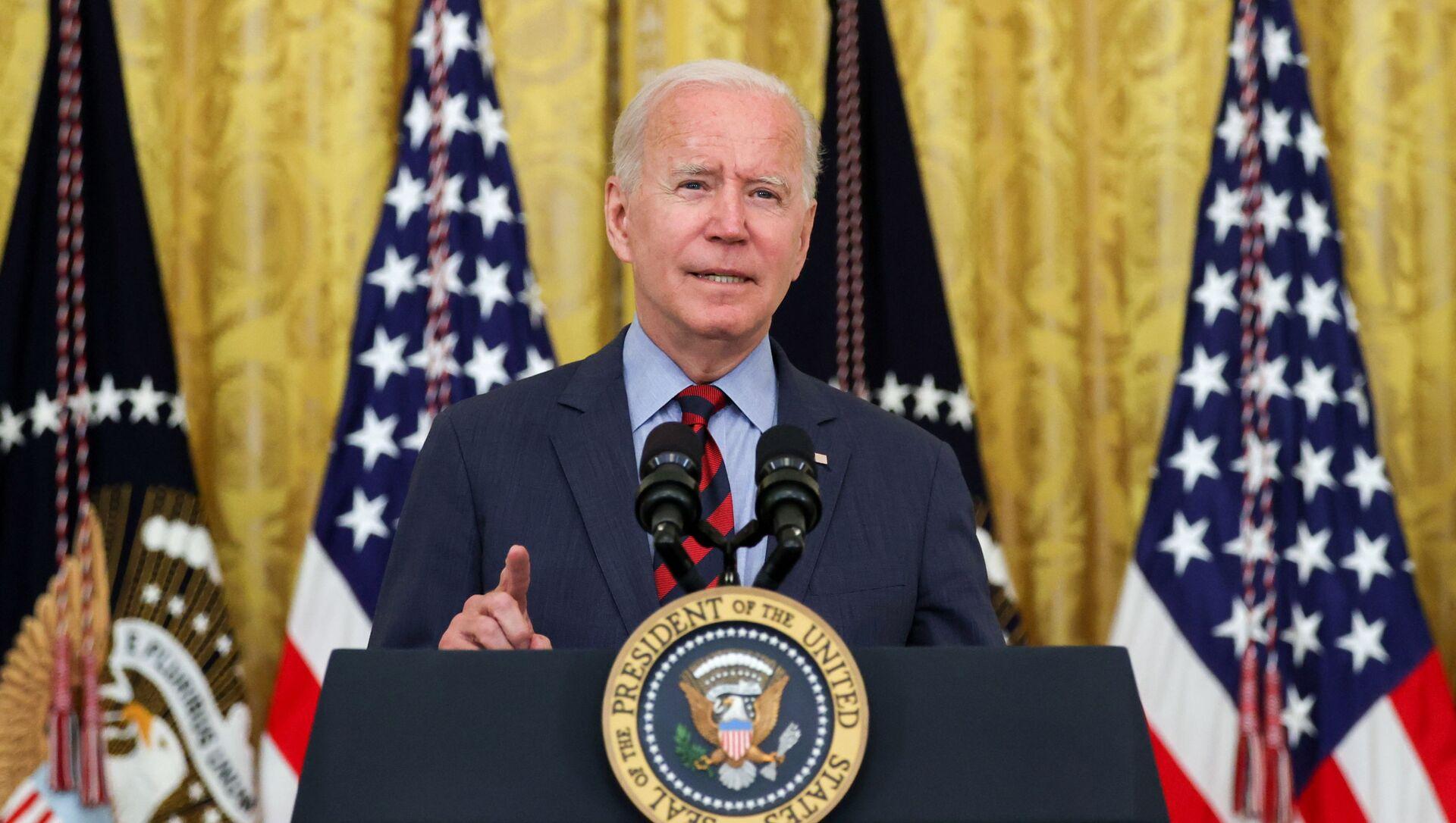U.S. President Joe Biden delivers remarks at the White House in Washington, U.S. August 3, 2021. - Sputnik International, 1920, 04.08.2021