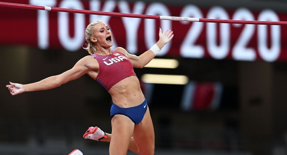 US' Katie Nageotte Wins Women's Pole Vault Gold at Tokyo Olympics