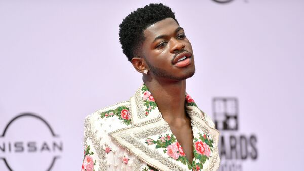 Lil Nas X attends the BET Awards 2021 at Microsoft Theater on June 27, 2021 in Los Angeles, California. - Sputnik International