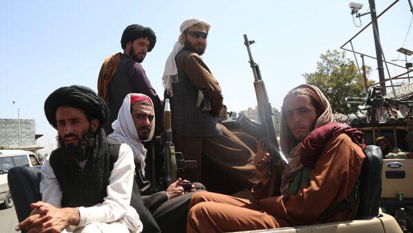 Taliban fighters in Kabul, Afghanistan, 16 August 2021 - Sputnik International