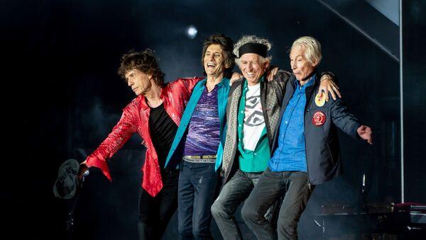 Rolling Stones bow post-show in London, 22 May 2018 - Sputnik International