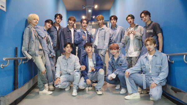K-Pop Boy-Band Seventeen Gets Set for Comeback in October - Sputnik International