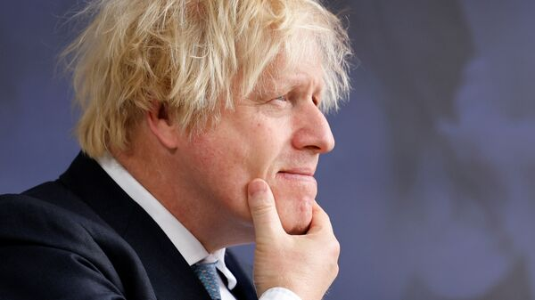 Britain's Prime Minister Boris Johnson arrives on the second day of the Global Education Summit in London, Britain July 29, 2021 - Sputnik International
