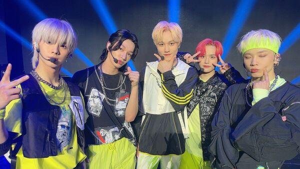 K-Pop Boy Band MCND Joins Forces With Global Platform TikTok for Their Latest Effort - Sputnik International