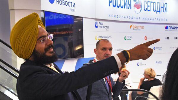 Participants of the Eastern Economic Forum in Vladivostok - Sputnik International