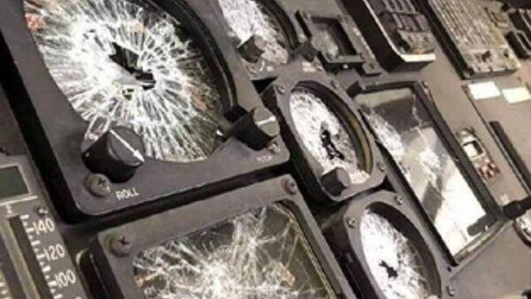 Damaged equipment left by US troops in Kabul Airport. - Sputnik International