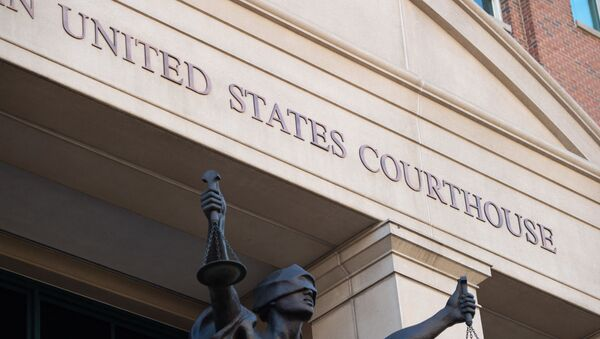 The US District Court in Alexandria, Virginia, is seen ahead of a plea hearing by Alexanda Kotey, a member of the notorious Islamic State kidnapping cell dubbed the Beatles, where he is expected to enter a guilty plea to charges of conspiring to murder four American hostages, September 2, 2021. - Sputnik International