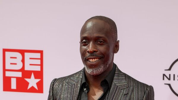FILE PHOTO: Michael K. Williams poses on the red carpet as he arrives for the BET Awards at Microsoft theatre in Los Angeles, California, U.S., June 27, 2021. - Sputnik International