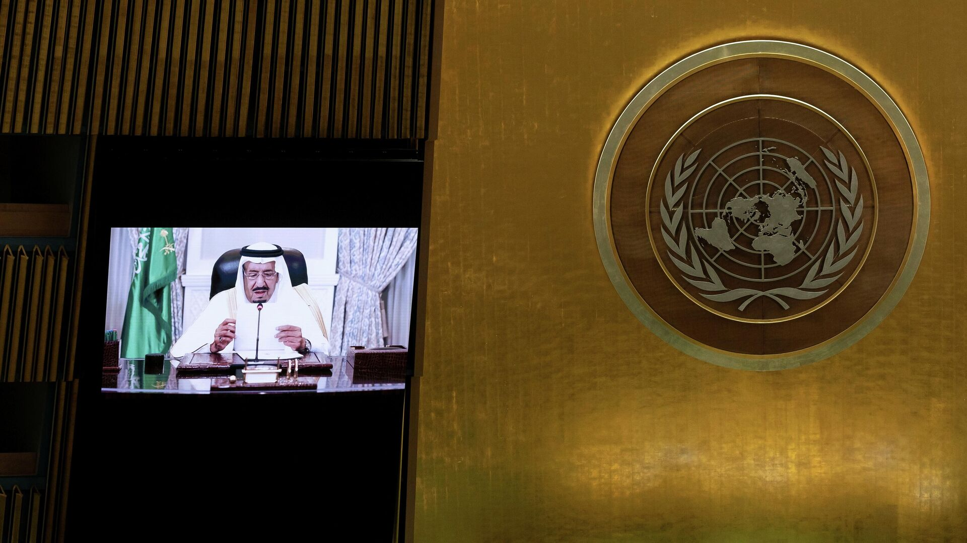 Saudi King Tells UN General Assembly Yemen's Houthis Reject Peaceful  Solution to Conflict - 22.09.2021, Sputnik International