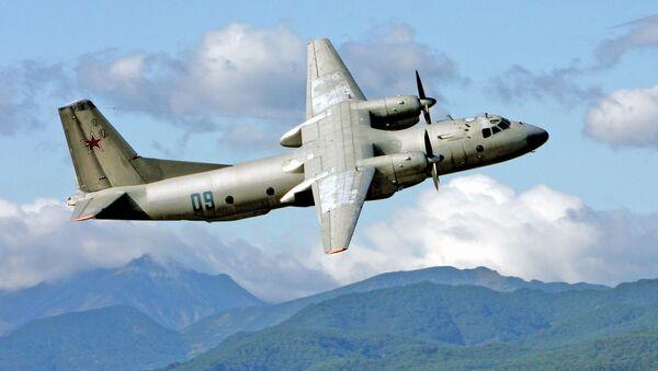Antonov An-26 twin-engined light turboprop transport aircraft - Sputnik International