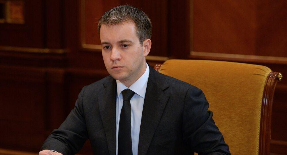 Russian Minister of Communications and Mass Media Nikolai Nikiforov