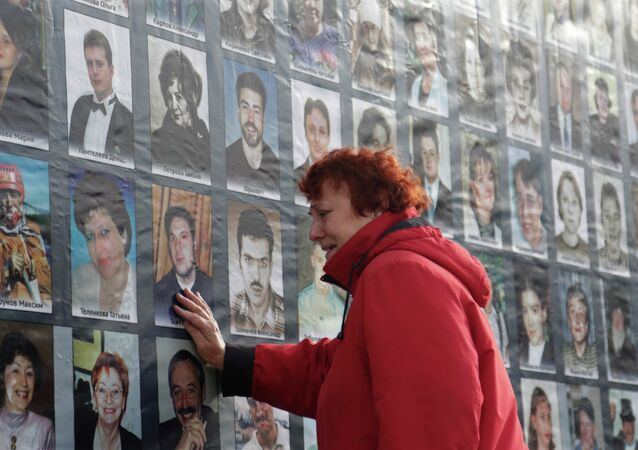 Vigil in memory of Dubrovka Theatre Centre tragedy