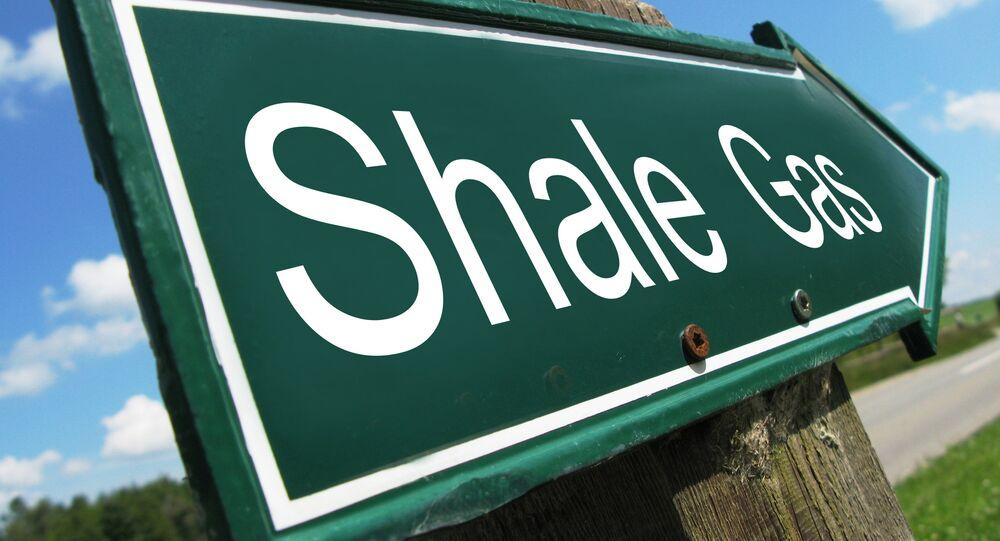 Shale Gas Sign